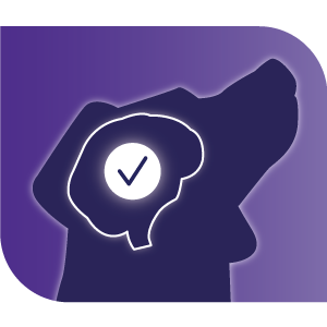 Helps reduce stress icon