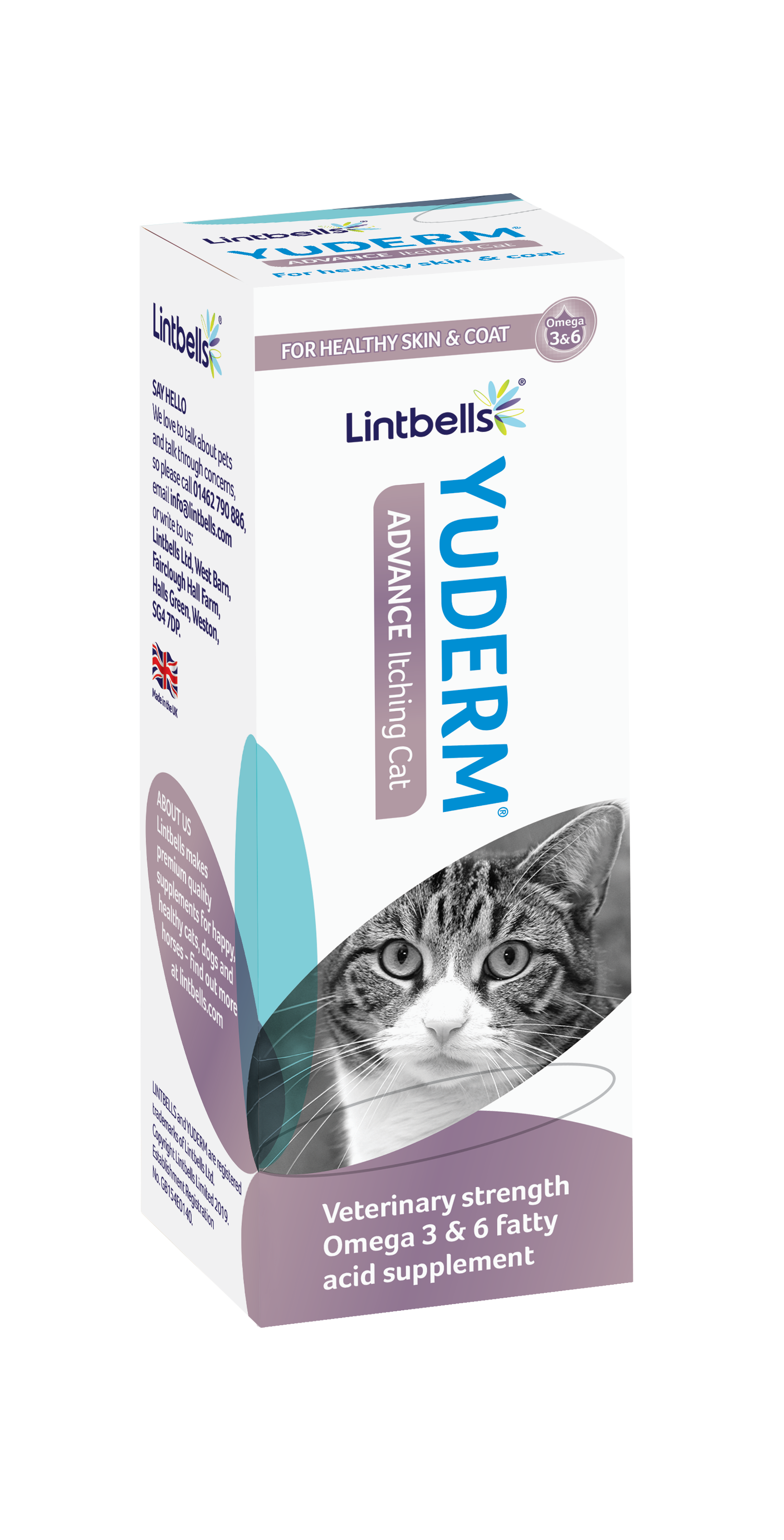 YuDERM ADVANCE Cat 50ml Box
